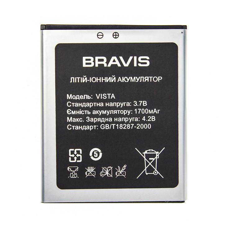 Аккумулятор Bravis Vista 1700 mAh (01946)