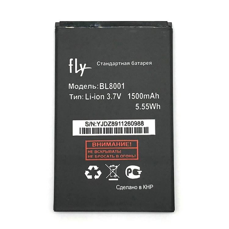 Акумулятор BL8001 для Fly IQ4490/IQ436 1500 mAh (01928)