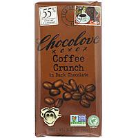 Черный шоколад с кофе, Dark Chocolate, Chocolove, 90 г