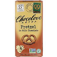 Крендель в молочном шоколаде, Milk Chocolate, Chocolove, 83 г