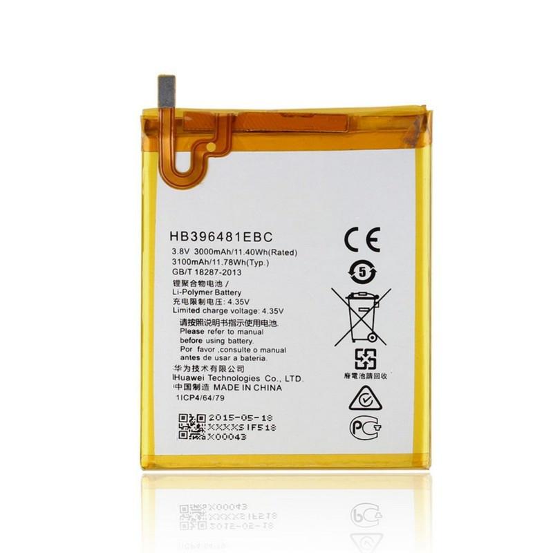 Аккумулятор HB396481EBC для Huawei G7 Plus/ Honor 5X/ Huawei G8 RIO-L01 RIO-L03 3000 mAh (04048)