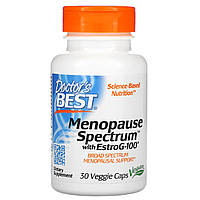 Помощь при менопаузе, EstroG-100, Doctors Best, 30 кап.