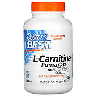L-карнитин Фумарат, Doctors Best, 180 капсул