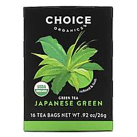 Японский зеленый чай Премиум, Choice Organic Teas, 16 шт.