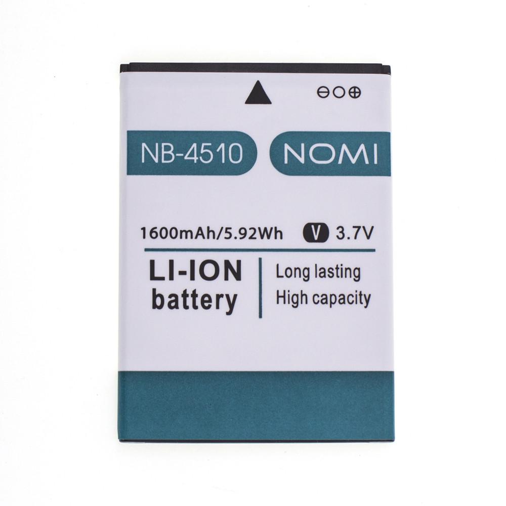 Аккумулятор NB-4510 для Nomi i4510 1600 mAh (03543)