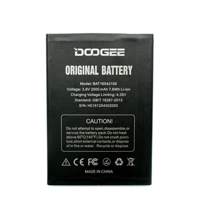 Акумулятор Doogee X9 Mini 2000 mAh (03587)