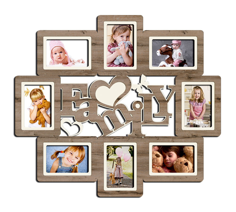"Фоторамка коллаж ""Family"" 68х60 см (H8-062C)"
