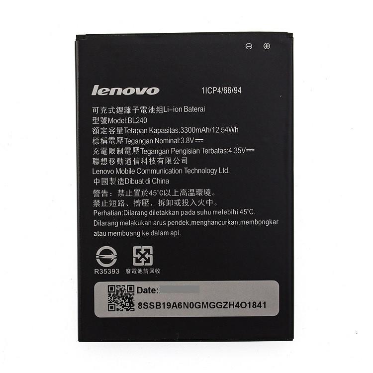 Акумулятор BL240 для Lenovo A936/A938T/Note 8 3300 mAh (03868)