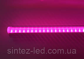 Светодиодный фитосветильник SL-7001F 14W линейный Т5 220V IP20 (fito spectrum led) Код.58764