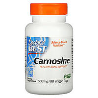 L-карнозин, Doctors Best, 500 мг, 90 капсул.