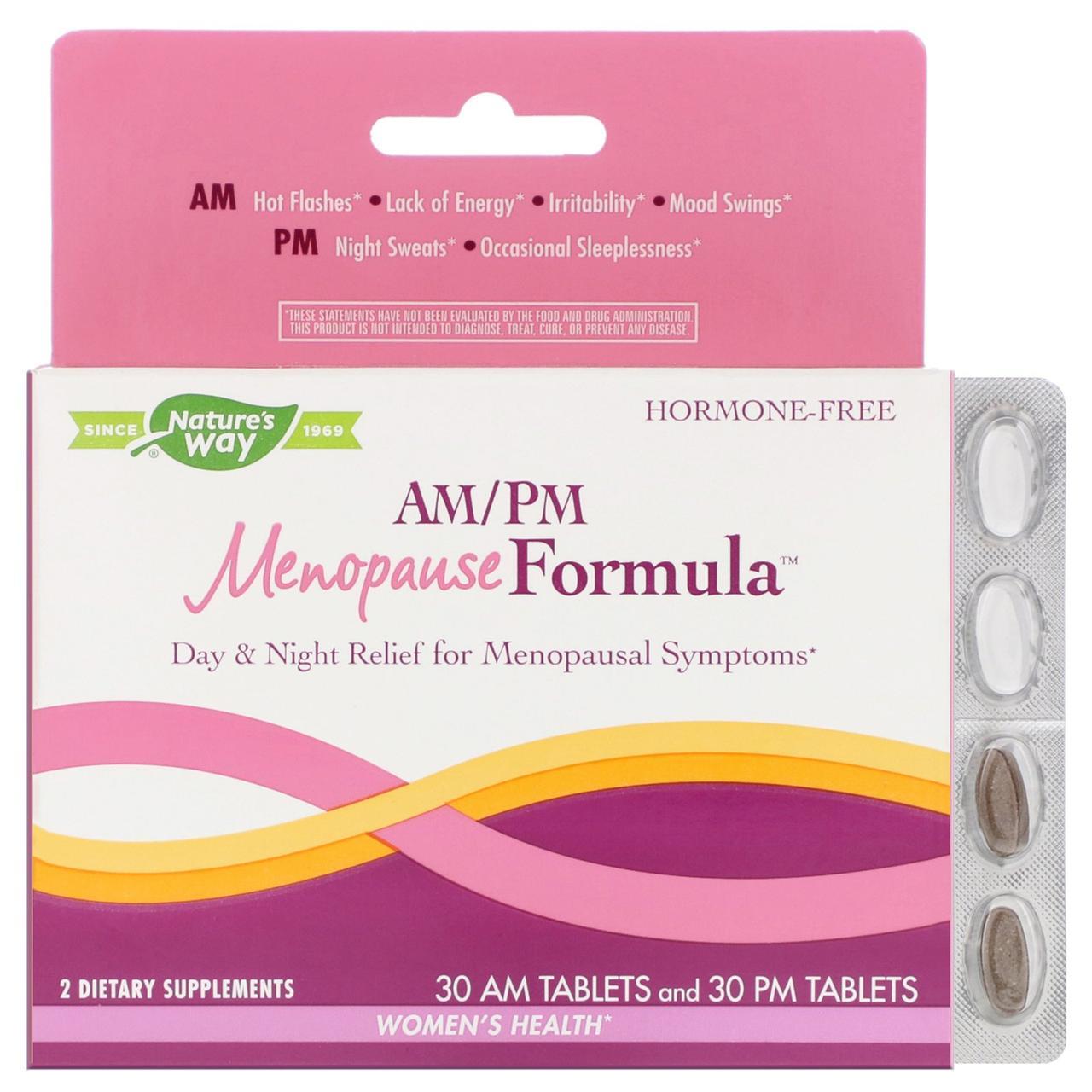 Жіноча формула при менопаузі, Enzymatic Therapy, 60 таблеток