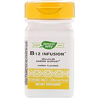 Витамин В12 Infusion, Energy, Enzymatic Therapy, 30 таблеток, фото 1