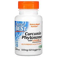 Куркумин, Doctors Best, 500 мг, 60 кап.
