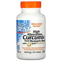 Куркумин С3 комплекс, Doctors Best, 1000 мг, 120 таб.