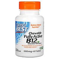 Витамин В12 метилкобаламин, Doctors Best, 1000 мкг, 60 таблеток