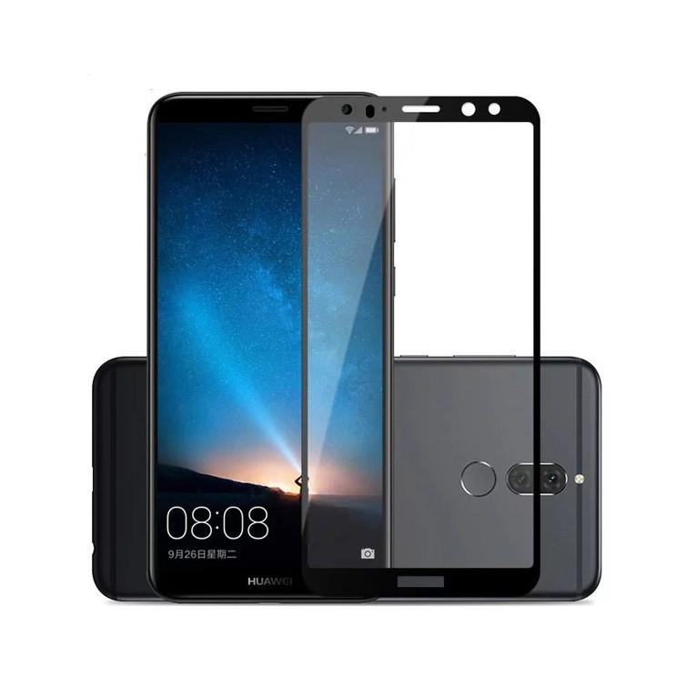 Защитное стекло Full Glue Full Screen Glass для Huawei Mate 10 Lite Черное (15216)