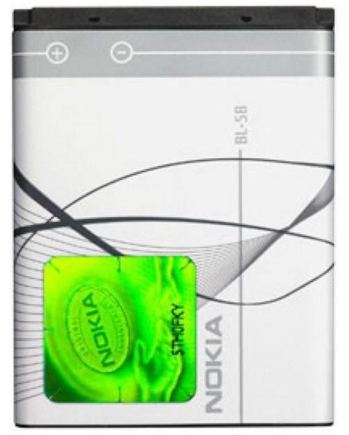 Акумулятор BL-5B Nokia 6070 890 mAh (03633-13)