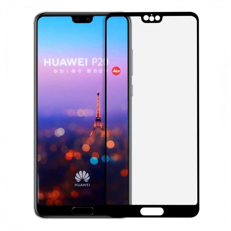 Защитное стекло Full Glue Full Screen Glass для Huawei P20 Lite/Nova 3e Black (PG-000734)