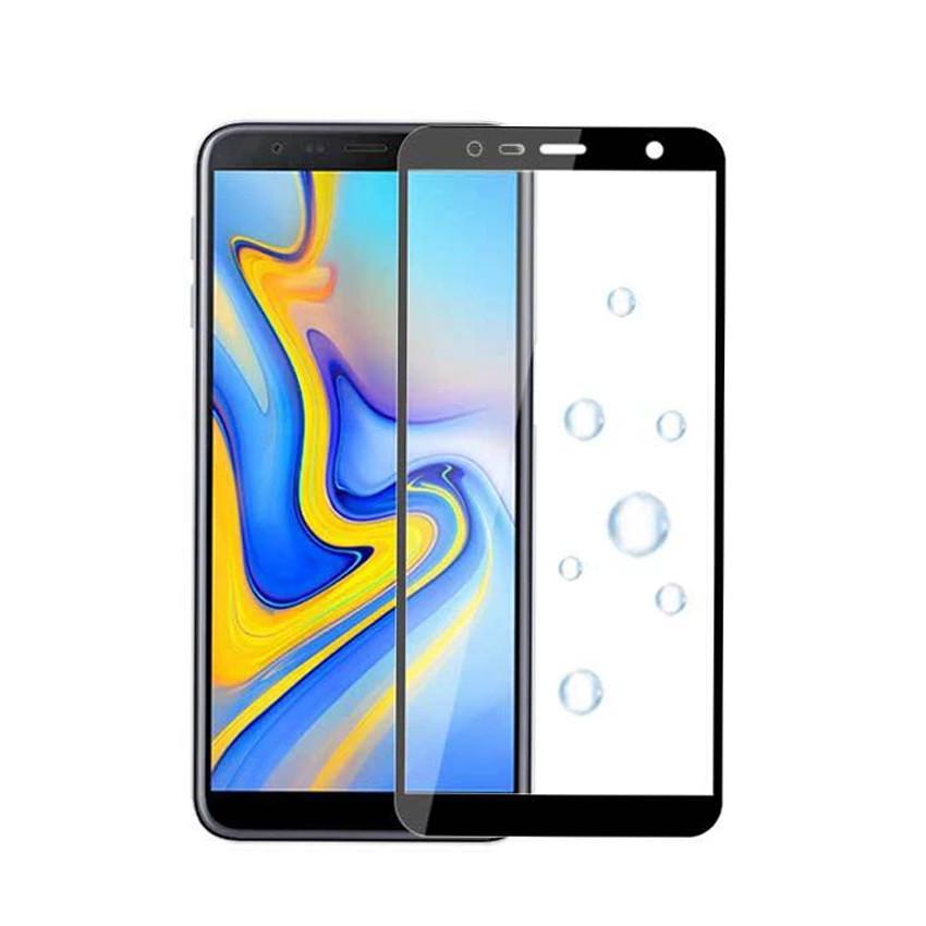 Защитное стекло Full Glue Full Screen Glass для Samsung Galaxy J6 Plus 2018/J610 Black (PG-000788)