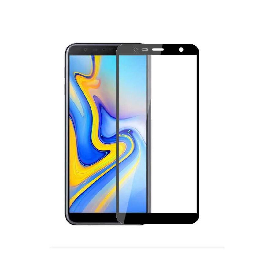 Защитное стекло Full Glue Full Screen Glass для Samsung Galaxy J4 Plus 2018/J415 Black (PG-000787)