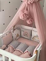 """Комплект в ліжечко з серії ART Design """"Равлик"""""""
