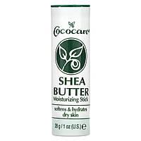 Увлажняющий стик с маслом ши, Shea Butter, Cococare, (28 г)