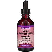 Витамин В12 (метилкобаламин), Bluebonnet Nutrition, 59 мл.