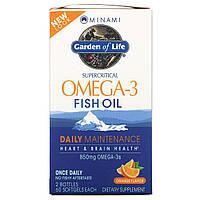 Minami Nutrition, MorEPA, Оптимальный комплекс ЭПК и ДГК, Апельсиновый вкус, 2 бутылки, 60 желатиновых капсул в каждой