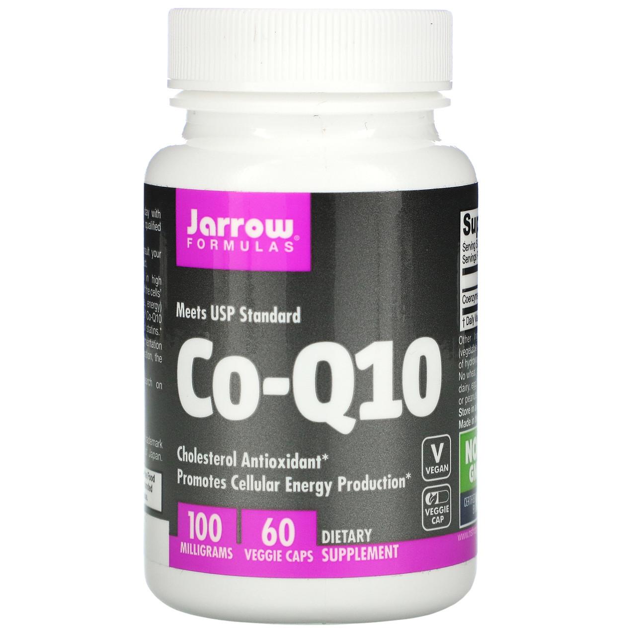 Коэнзим Q10, Jarrow Formulas, 100 мг, 60 капсул