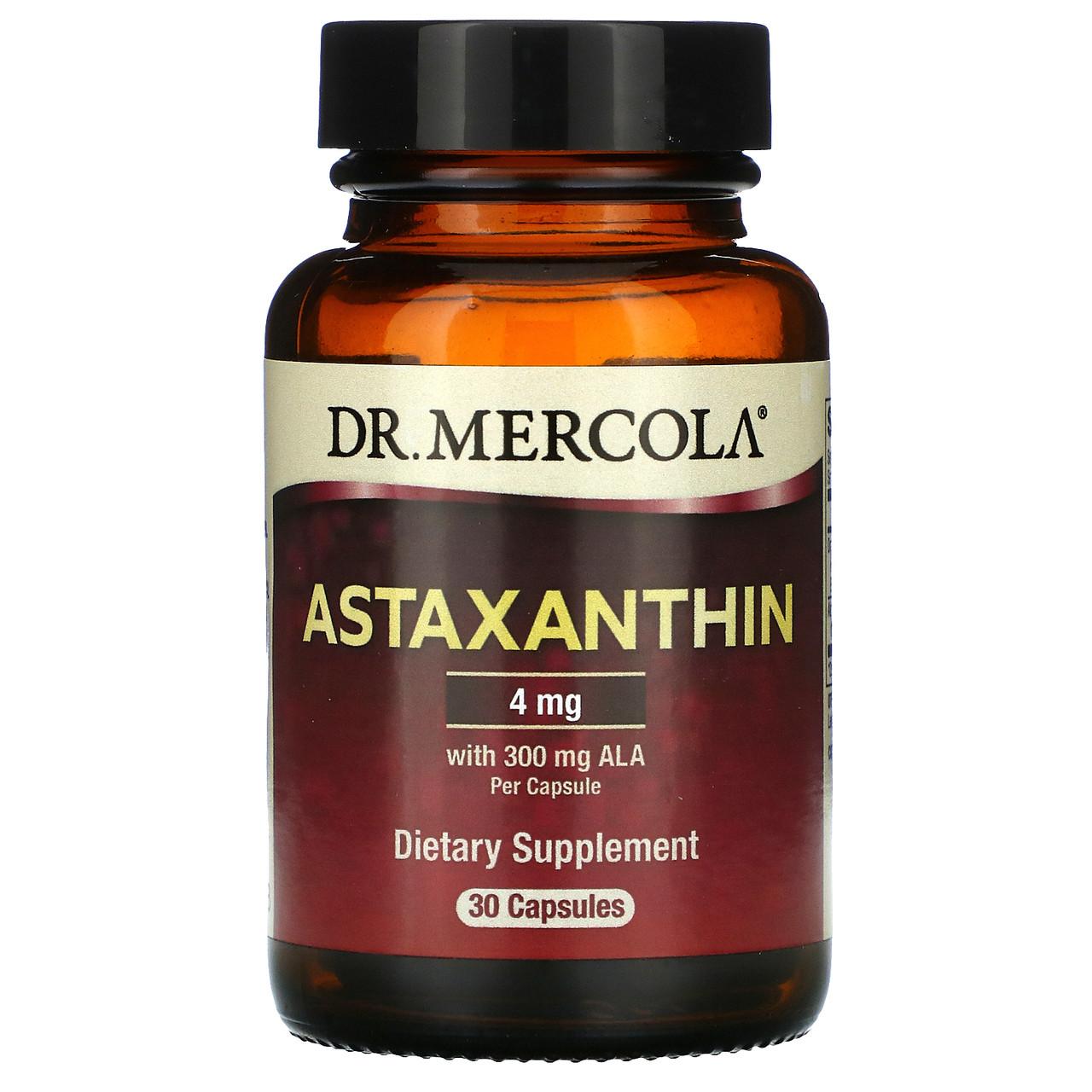 Dr. Mercola Астаксантин, 30 капсул