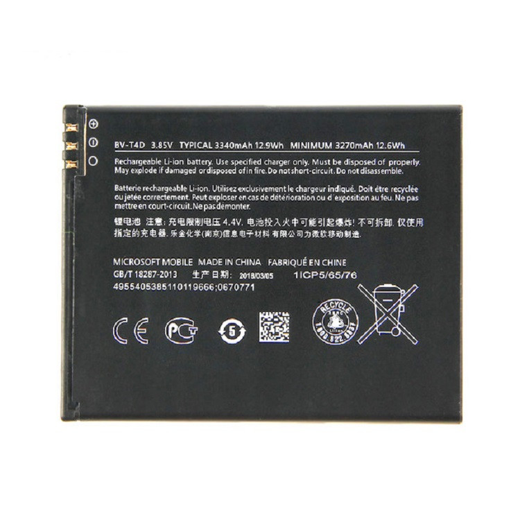 Акумулятор BV-T4D для Nokia 950 XL 3270 mAh (03910)