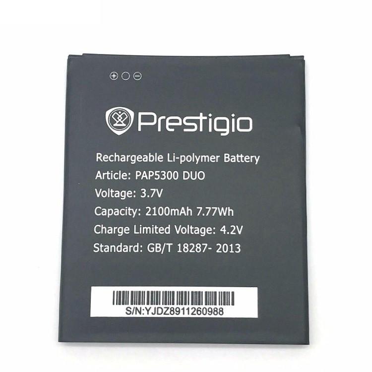 Аккумулятор PAP5300 для Prestigio 5300 MultiPhone PAP Duo 2100 mAh (03204)