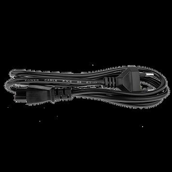Кабель питания для ноутбука 220V LP CEE 7/4 C5 - 1.2 м 2x0.75 мм2