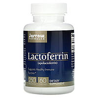 Лактоферрин, Jarrow Formulas, 250 мг, 60 капсул.