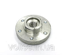 Фланец (крепление) алюминиевый для отрезных кругов 115-180мм  М14
