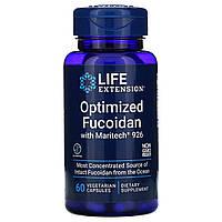 Фукоидан, Optimized Fucoidan, Life Extension, 60 капсул