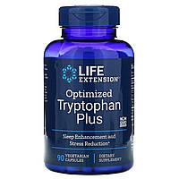 L-триптофан плюс (Optimized Tryptophan Plus), Life Extension, 90 капсул