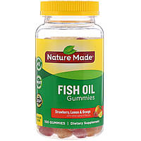 Рыбий жир, Омега 3, Fish Oil, Nature Made, 150 шт