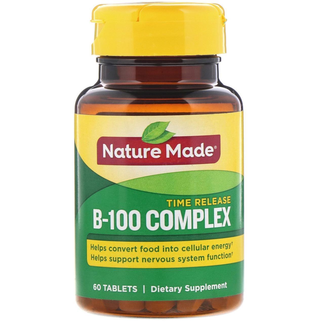 В комплекс, В-100, Nature Made, 60 таблеток