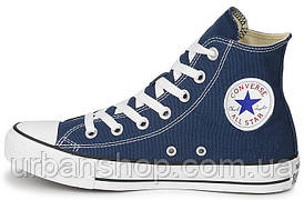 Чоловічі кеди, trampki męskie Converse All Star High blue, конверс, конвера, cons, конверси.