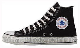 Чоловічі кеди, trampki męskie Converse All Star High black, конверс, конвера, cons, конверси.
