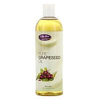 Масло виноградных косточек (Grapeseed Oil), Life Flo Health, 473 мл