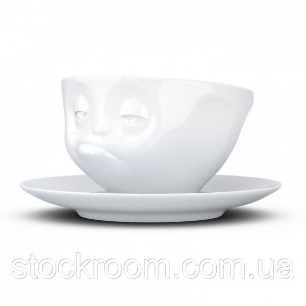 """Чашка с блюдцем для кофе Tassen """"озадачен"""" (200 мл), фарфор"""