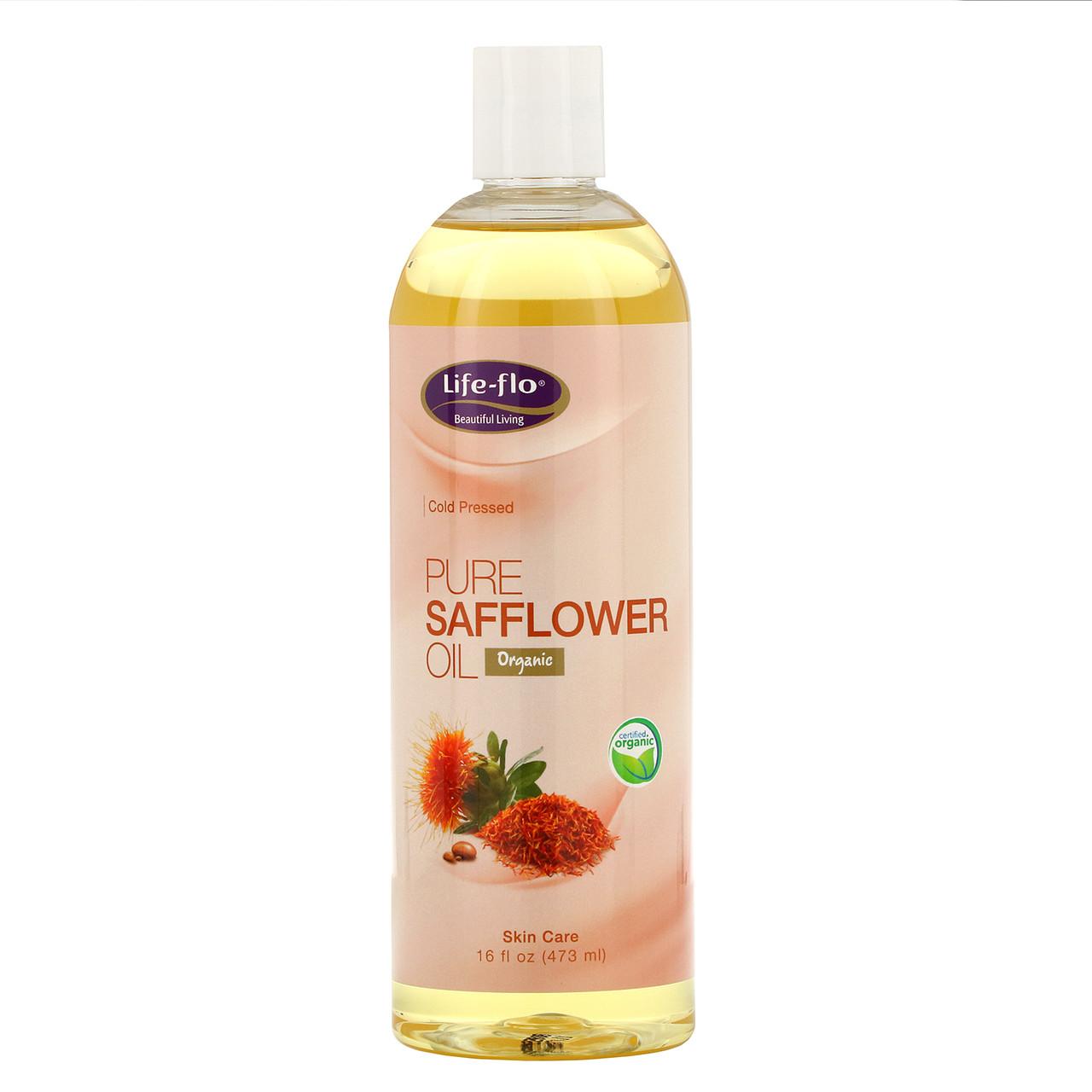 Сафлоровое масло, Life Flo Health, 473 мл