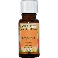 Эфирное масло грейпфрута (Grapefruit), Nature's Alchemy, 15 мл