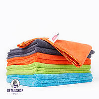 SGCB Microfiber Cleaning Cloth Pack Набір мікрофібри (зелена,синя,сіра,помаранчева) 36 шт. 40х40 cm