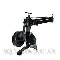 Плуг для мотоблока Zirka-105 Премиум  (опорне колесо, коротка рама), фото 5