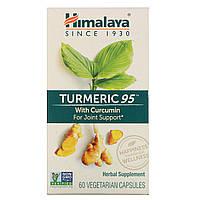 Куркума, Turmeric, Himalaya Herbal Healthcare, 60 капсул