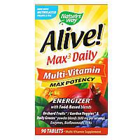 Мультивитамины (Multi-Vitamin),  Nature's Way, 90 таблеток, фото 1