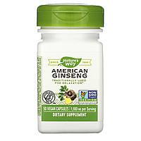 Американский женьшень, Nature's Way, 550 мг, 50 кап.